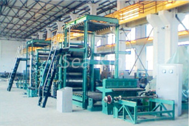 Rubber Conveyer Belt Calendaring Line